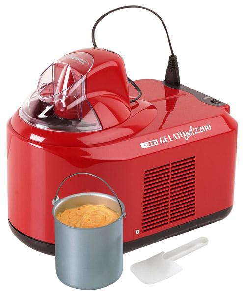Автоматическая мороженица Nemox Gelato Chef 2200 Rossa