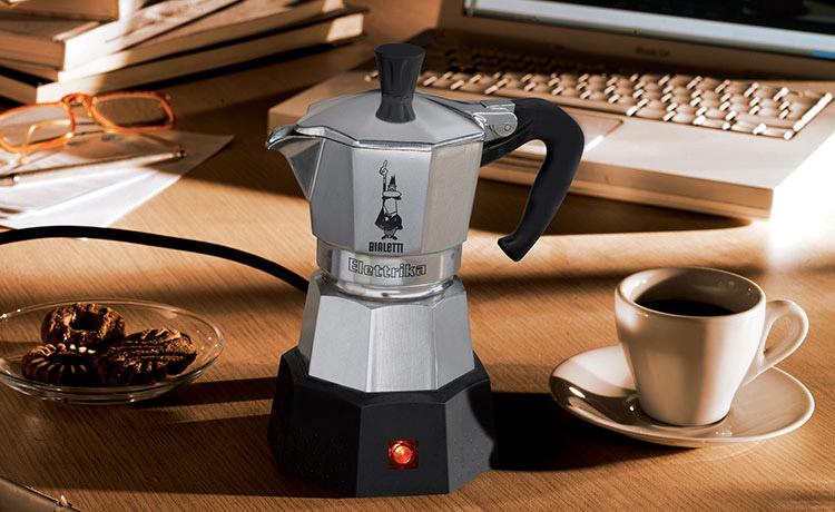 Электрическая гейзерная кофеварка bialetti купить
