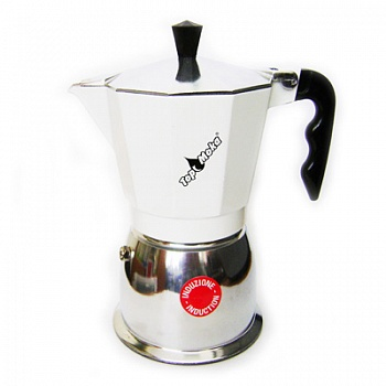 ��������� ��������� ��� ������������ ����� Top Moka Caffetiera Top 6 ������ (240 ��) argento �����